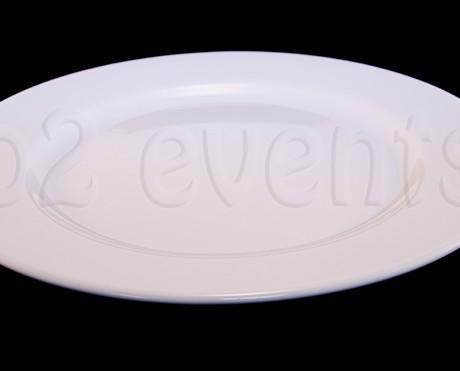 Assiette blanche Julia